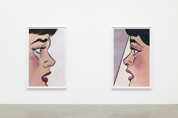 Installation view, Anne Collier, Galerie Neu, 2019