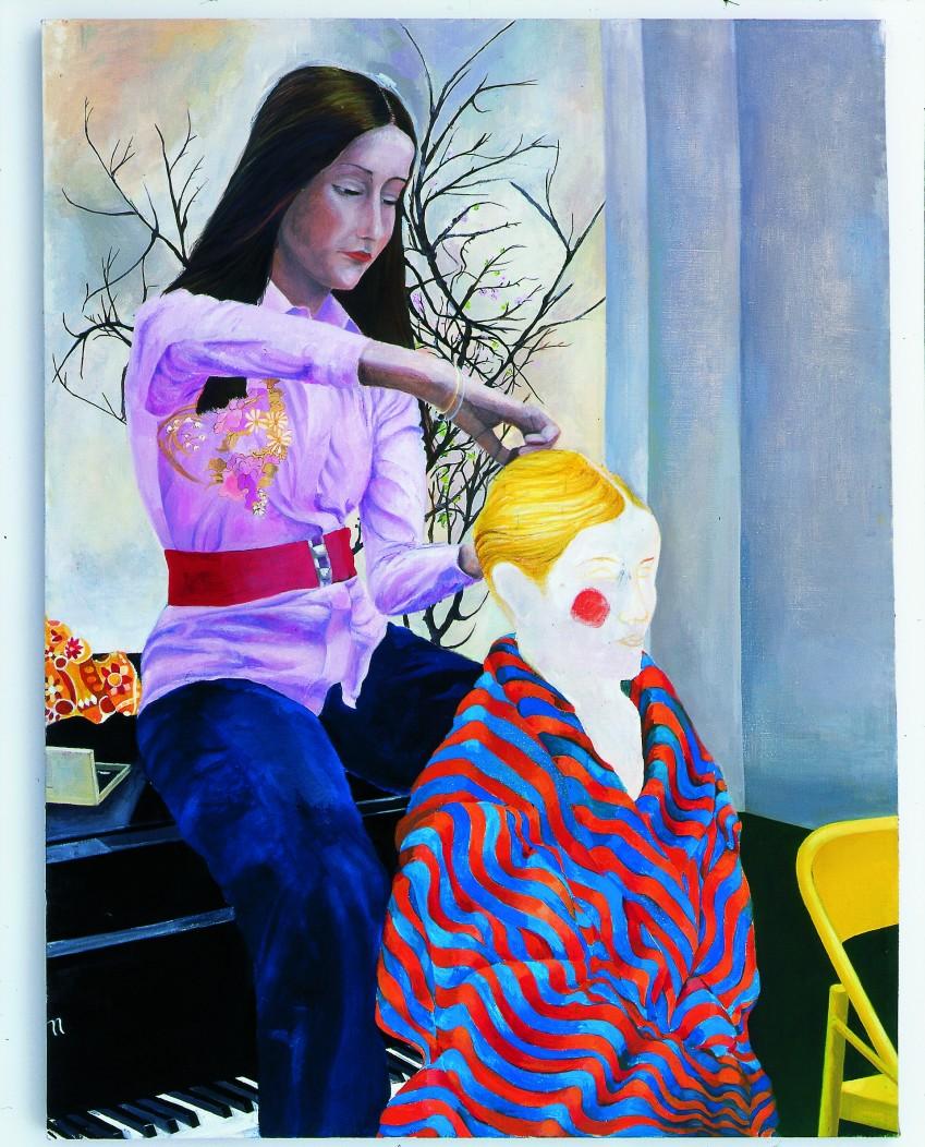 Katharina Wulff Die Untergebene / the subordinate Galerie Neu - Katharina Wulff