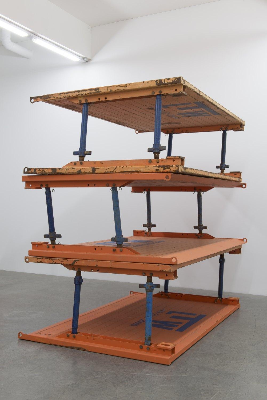 Matias Faldbakken & Leander Djønne Void to Void, 2017 Trench boxes, dimensions variable
