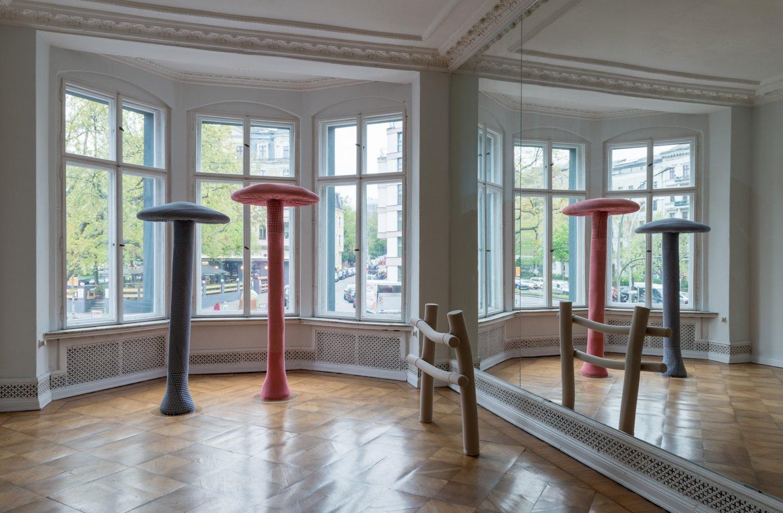 Installation view, Galerie Neu, Mehringdamm 72, Berlin 2017