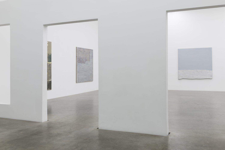 Sergej Jensen, The Weather Installation view, Galerie Neu, Berlin, 2017
