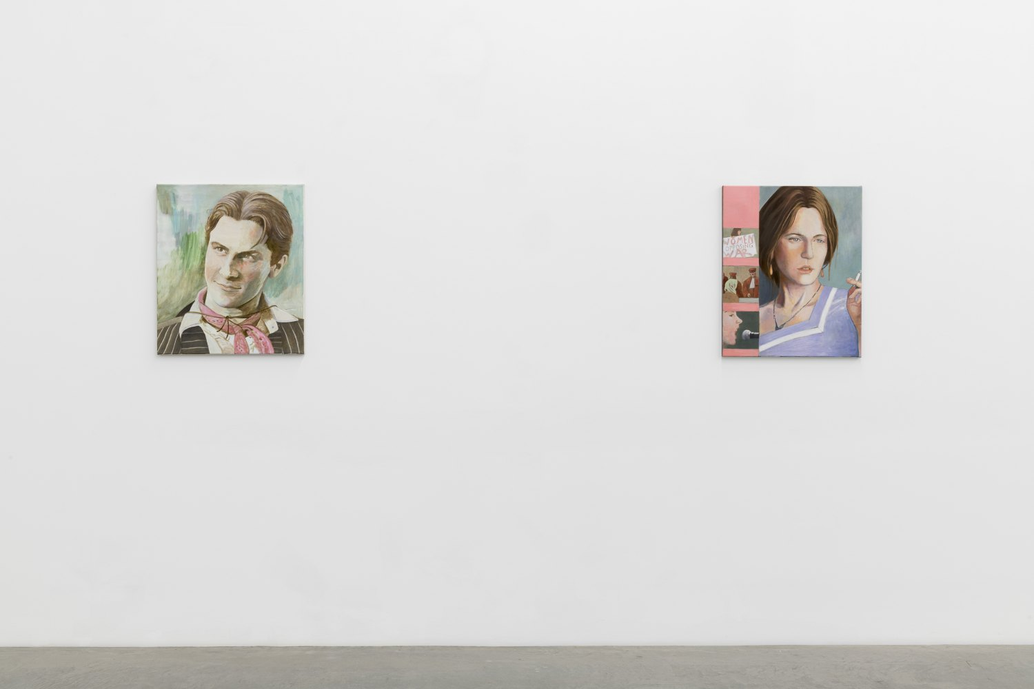 Birgit Megerle Soft Power Installation view, Galerie Neu, Berlin 2018