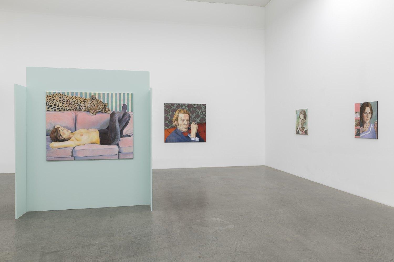 Birgit Megerle Soft Power Installation view, Galerie Neu, Berlin 2018