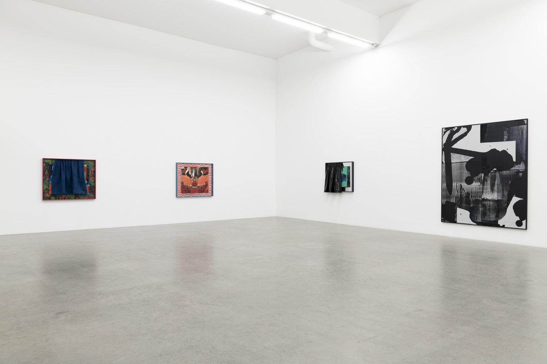Alex Hubbard Private Lives Installation view, Galerie Neu, Berlin 2018