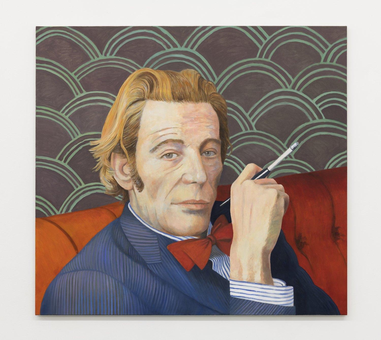 Birgit Megerle O'Toole, 2018 Oil on linen, 130 x 140 x 2,5 cm