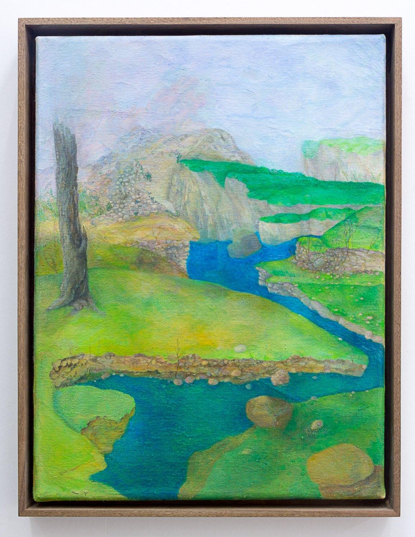 Katharina Wulff Untitled, 2015 Oil on canvas, 40 x 30 cm