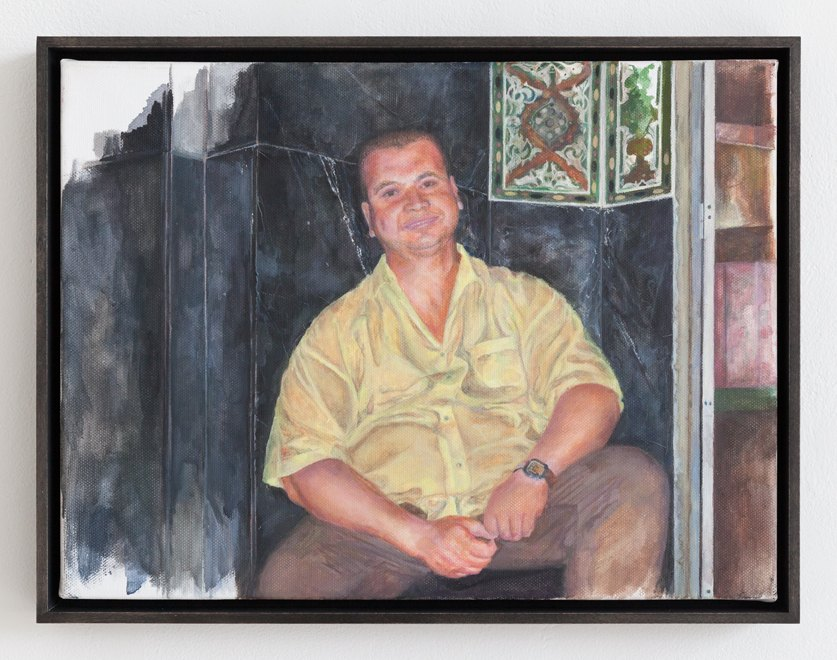 Katharina Wulff Untitled, 2016 Oil on canvas, 30,2 x 40 cm
