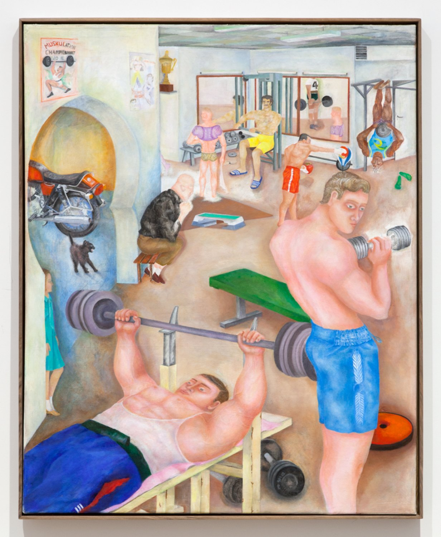 Katharina Wulff Untitled, 2016 Oil on canvas, 118,7 x 95,4 cm