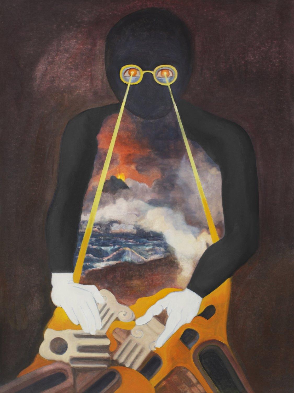 Jill Mulleady Riot III, 2015 Oil on canvas, 81x 108 cm