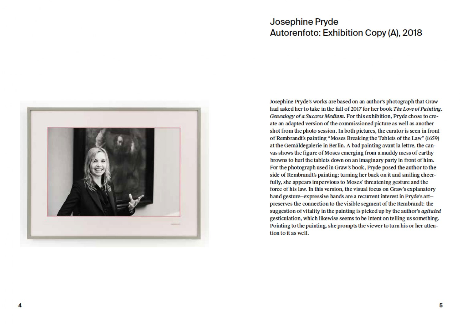 Notes on the exhibition by Isabelle Graw Booklet available at Galerie Neu and MD72