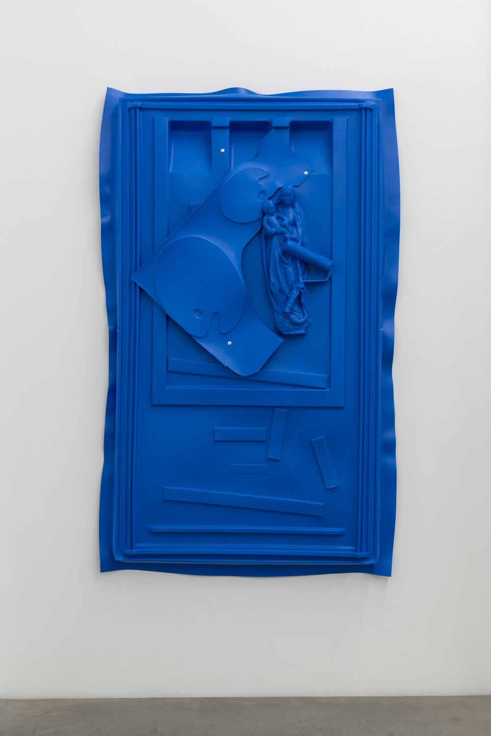 Andreas Slominski Untitled, 2017 Plastic, rivet