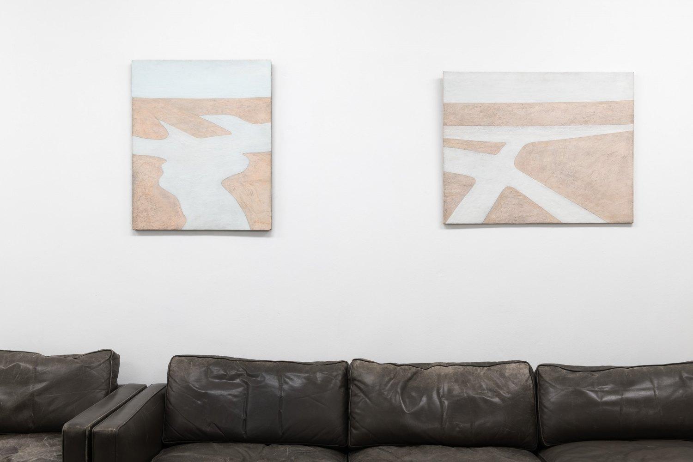 Installation view, Adrian Morris, Galerie Neu, 2019