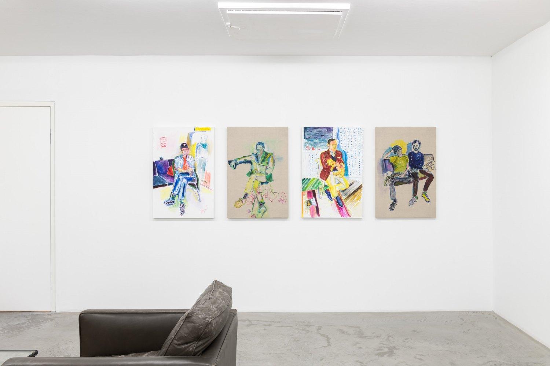 Installation view, Emily Sundblad, Toilet Feelings Are Normal,Galerie Neu, 2019
