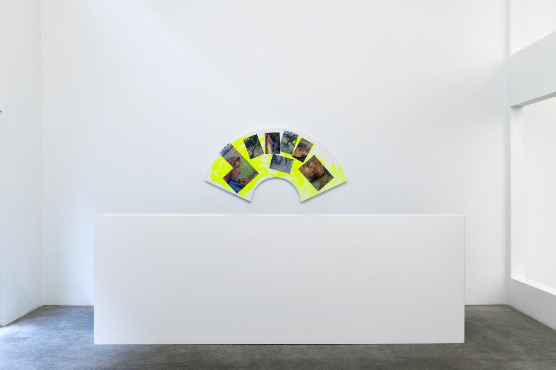 Installation view, Reena Spaulings, Life at Sea, Galerie Neu, Berlin 2020