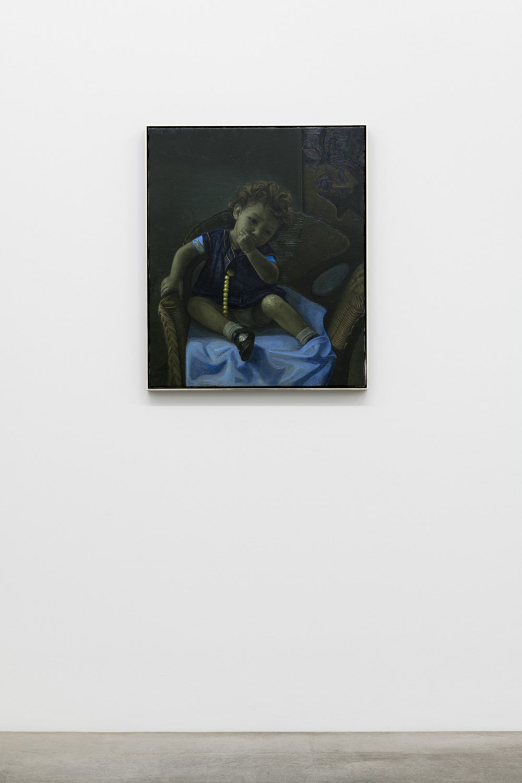 Victor Man Rózsa Victoria, 2019 - 2020 Oil on canvas 86 x 72 x 5 cm