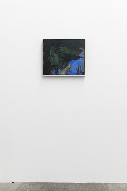 Victor Man Rupture, 2019 - 2020 Oil on canvas 46 x 54 x 4,5 cm