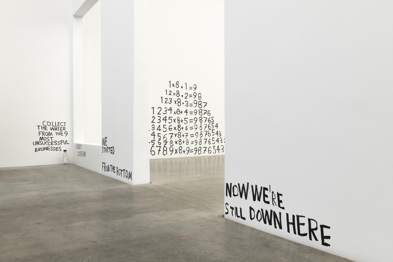 Installation view, Karl Holmqvist, #SAVEYOURTEARS..., Galerie Neu, Berlin 2021
