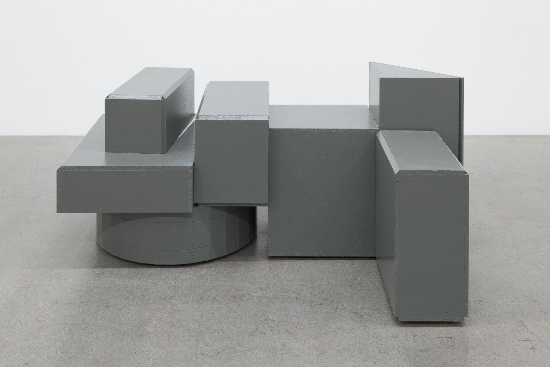 Manfred Pernice von der Stange 8, 2011 Wood, varnish 67 x 103,5 x 144,5 cm