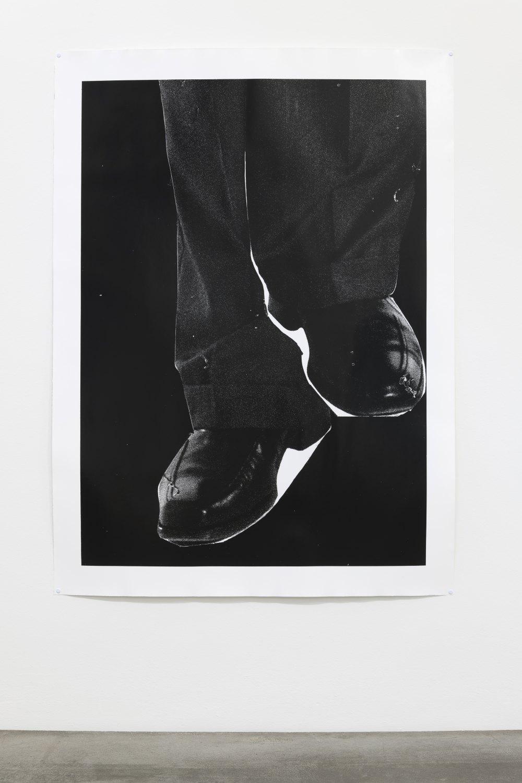 Win McCarthy Edited Servant (Lower Half), 2021 Silver gelatin print 146 x 107 cm