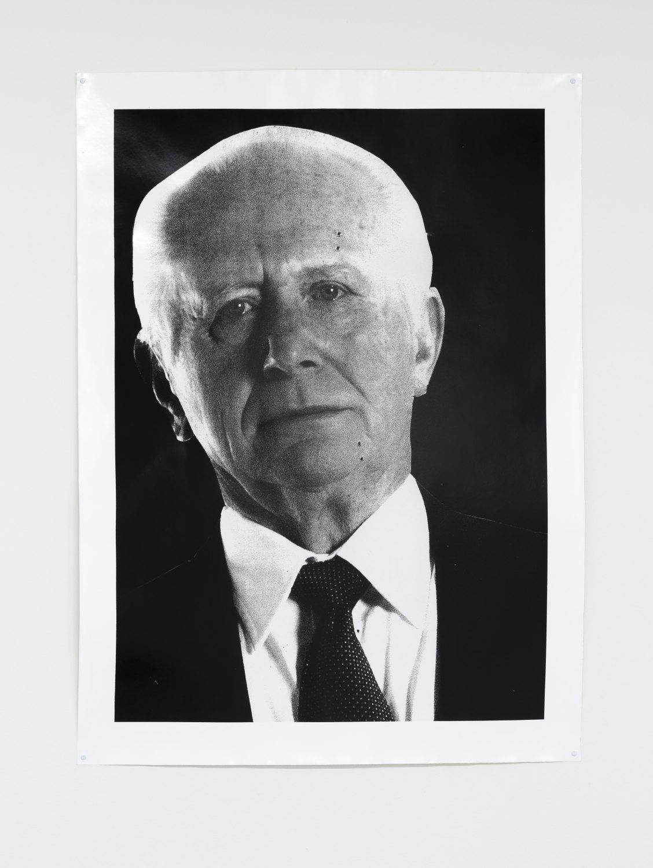 Win McCarthy Edited Servant (Upper Half), 2021 Silver gelatin print 146 x 107 cm
