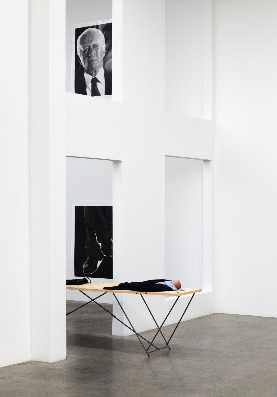 Installation view, Win McCarthy,RULER, Galerie Neu, Berlin, 2021