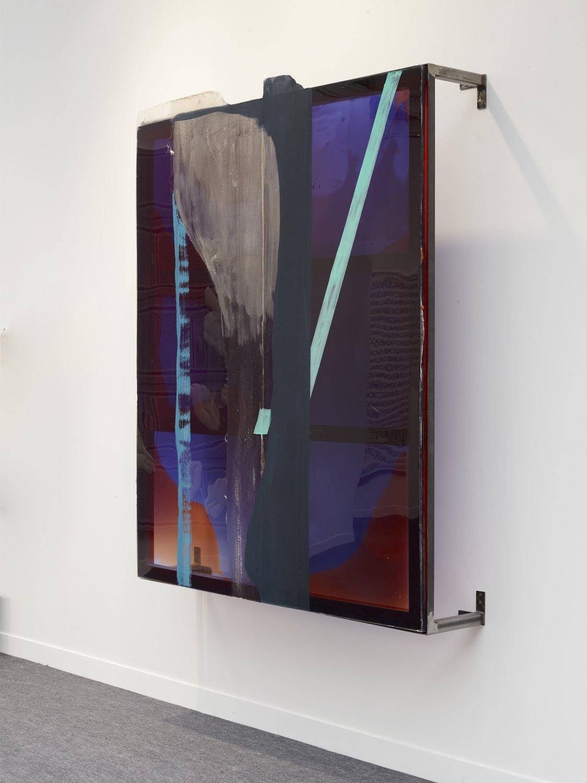 Alex Hubbard Beta Uprising, 2015 Urethane, fiberglass, polyester, resin enamel, 189.9 × 153.7 × 31.8 cm