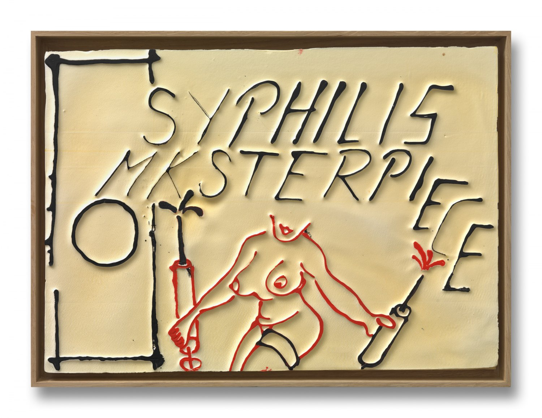 Andreas Slominski   Untitled, 2011    Polystyrene, acrylic paint, 30 × 40 cm