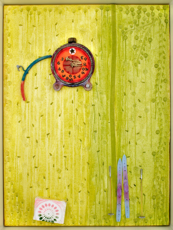 Andreas Slominski   xHBy53z, 2005    Styropor, Styrodur,260 × 200 × 29 cm