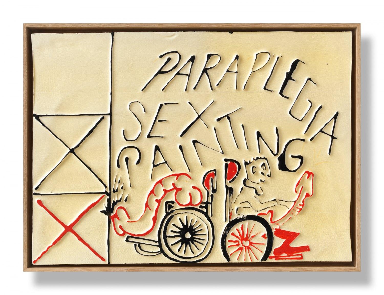 Andreas Slominski   xyz erotic vol. 610, 2011    Polystyrene, acrylic paint, 30 × 40 cm