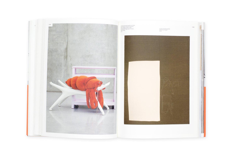 Cosima von Bonin, Hippies Use Side Door. Das Jahr 2014 hat ein Rad ab Catalogue, mumok, Vienna 2014/15, 224 p. ISBN 978-3-86335-631-6