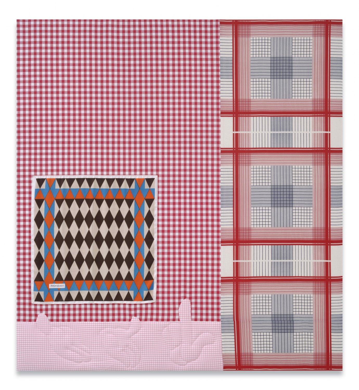 Cosima von Bonin    Polyamorie, 2007     Cotton, silk, 238 × 221