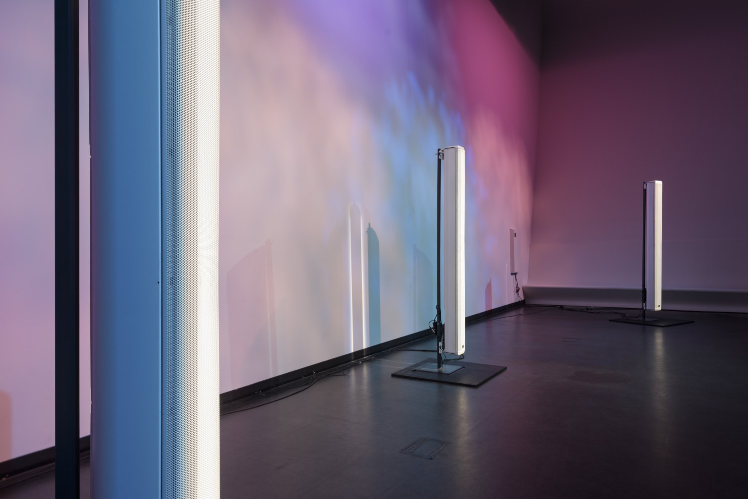 Florian Hecker, A Script for Machine Synthesis Installation view, Stedelijk Museum, Amsterdam 2015