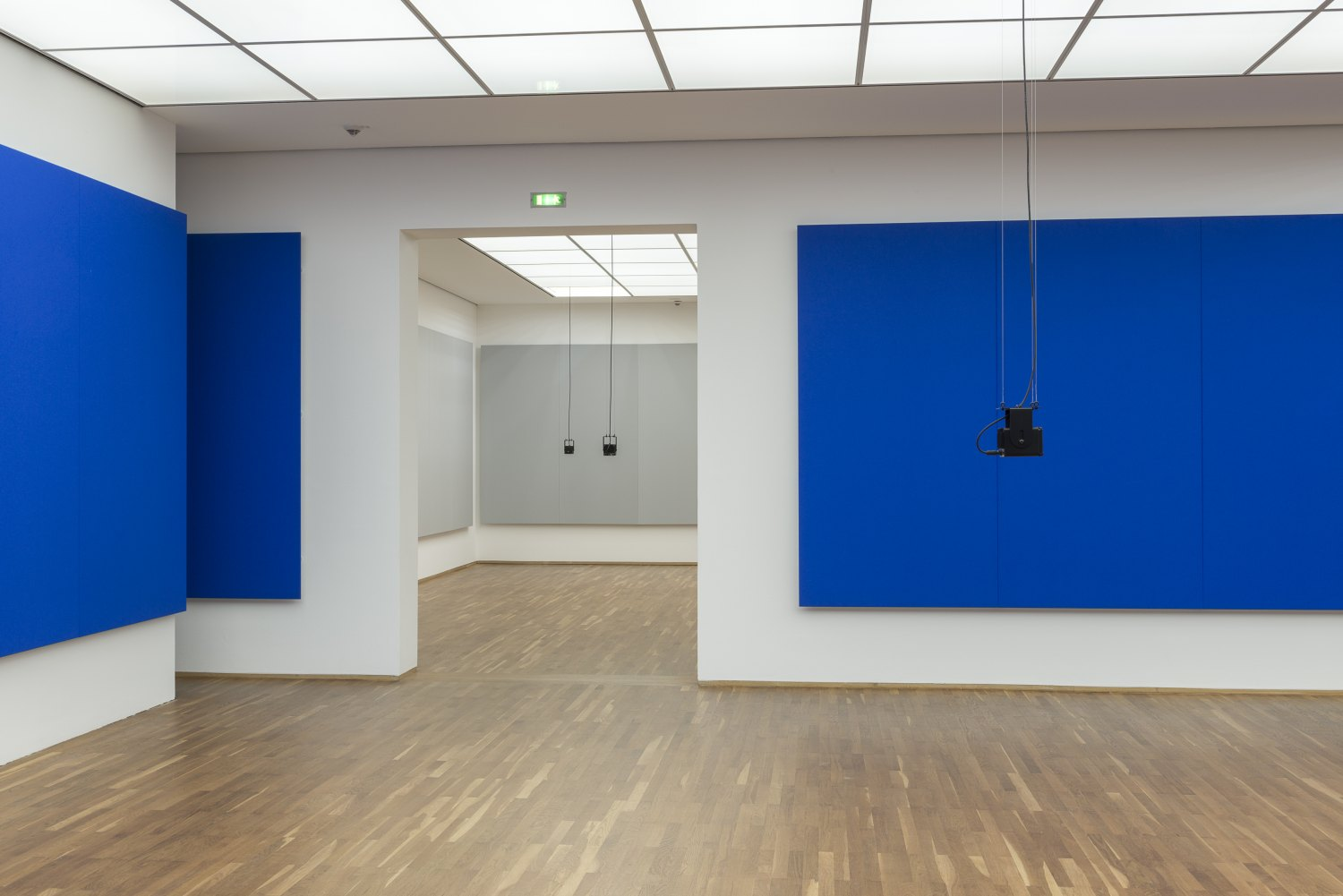 Florian Hecker, Formulations Installation view, Hamburger Bahnhof, Berlin 2015