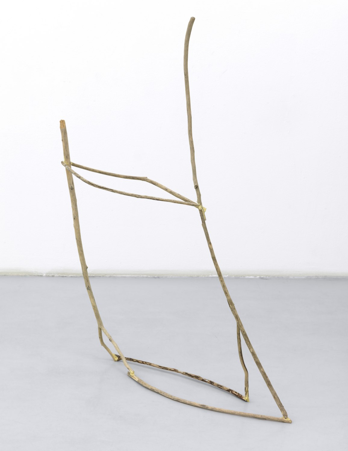 Gedi Sibony   To Be Of, 2009    Sticks, glue,  112 × 142 × 13 cm
