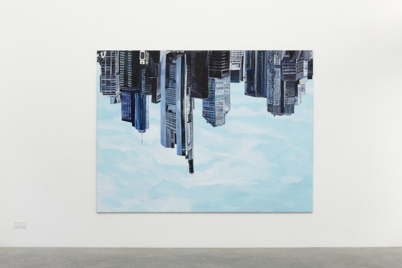 Jana Euler Frankfurt, 2015 Oil on canvas, 220 x 280 cm