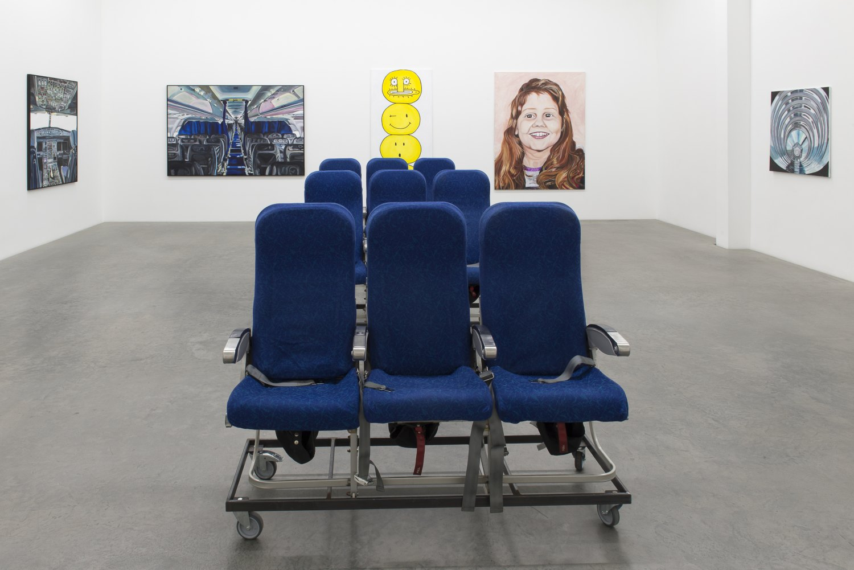 """Jana Euler,""""Female Jesus crying in public"""" in einer neuen Ausstellung Installation view, Galerie Neu, Berlin 2015"""