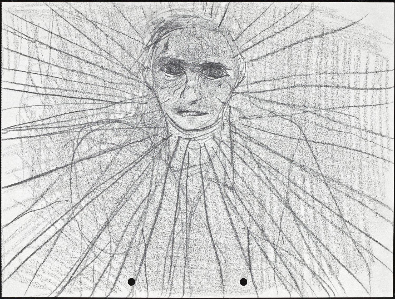 Kai Althoff Untitled, 2001 Pencil on paper, 21 × 29.7 cm
