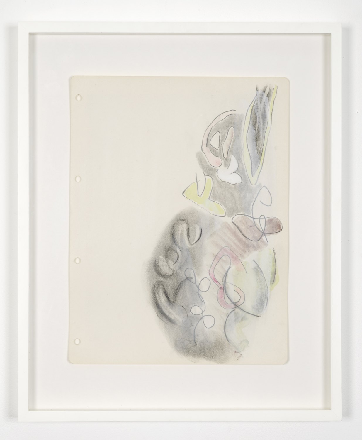 Marc Camille Chaimowicz From Series Three..., 1997 Pencil, ink, and gouache on paper, 60 × 47 cm
