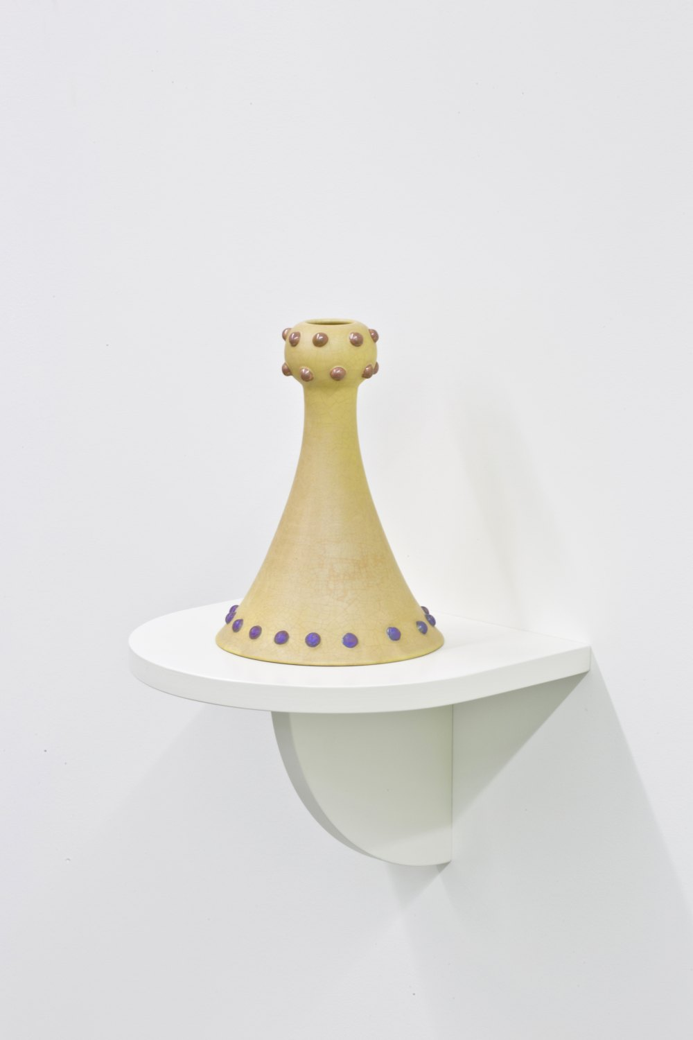 Marc Camille Chaimowicz Rose vase, 2014 Glazed ceramic, 26 cm × ∅ 18 cm