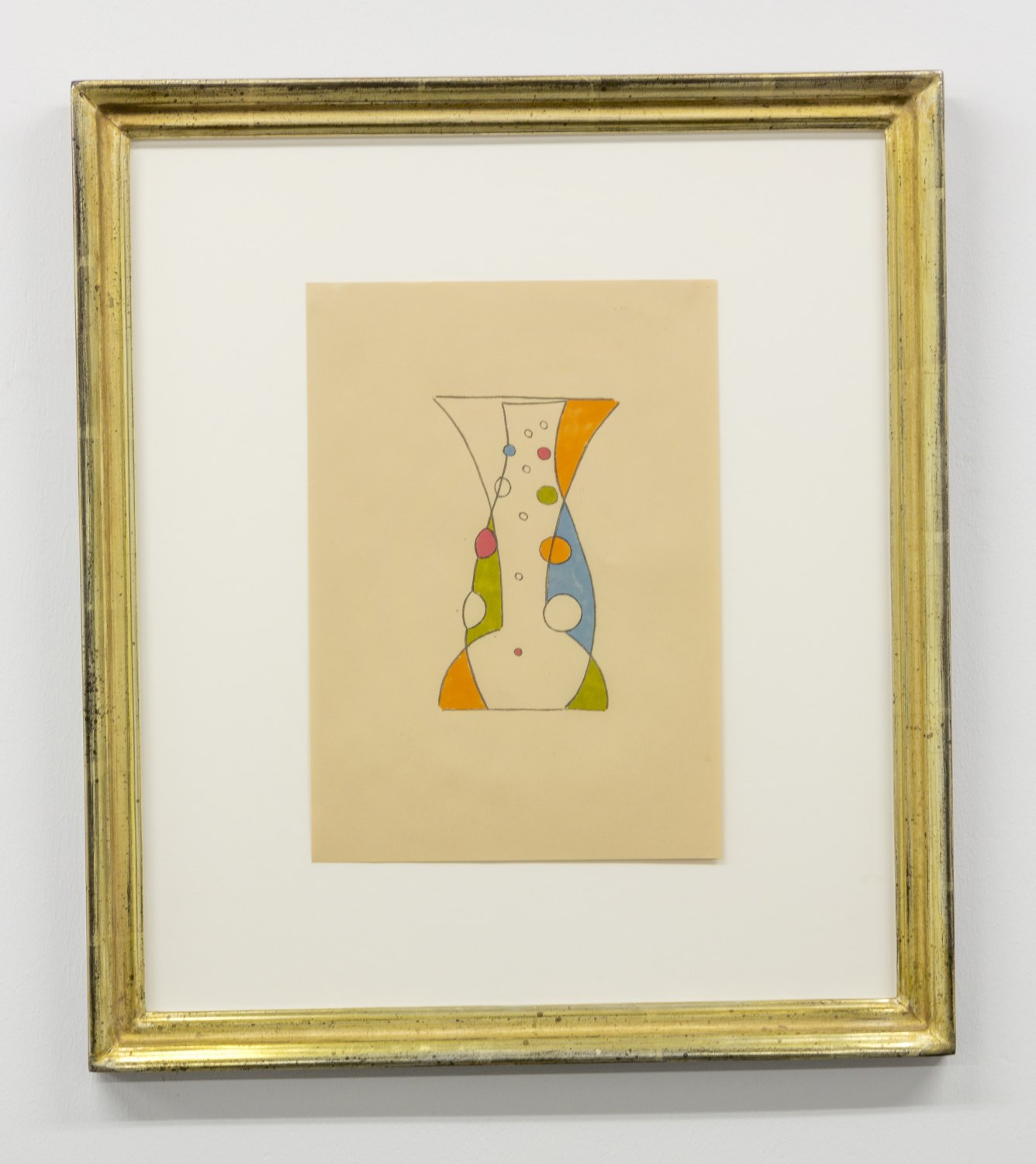 Marc Camille Chaimowicz Untitled, 2014 Mixed media on paper, 29.7 × 21 cm