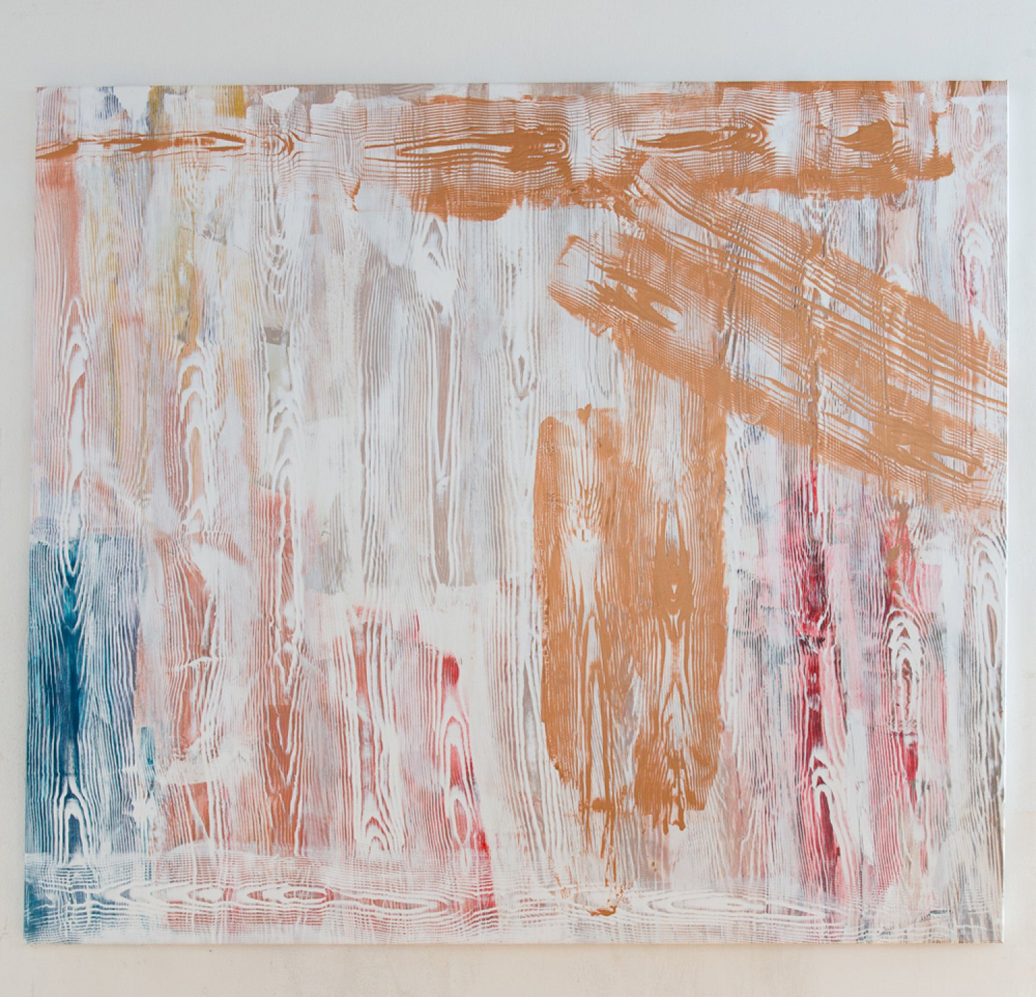 Reena Spaulings Holzweg 6, 2013 Acrylic on canvas, 150 × 170 cm