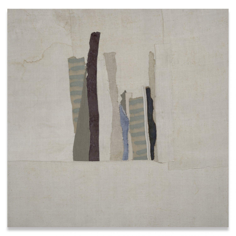 Sergej Jensen Untitled, 2006 Sewn fabrics, 180 × 180 cm